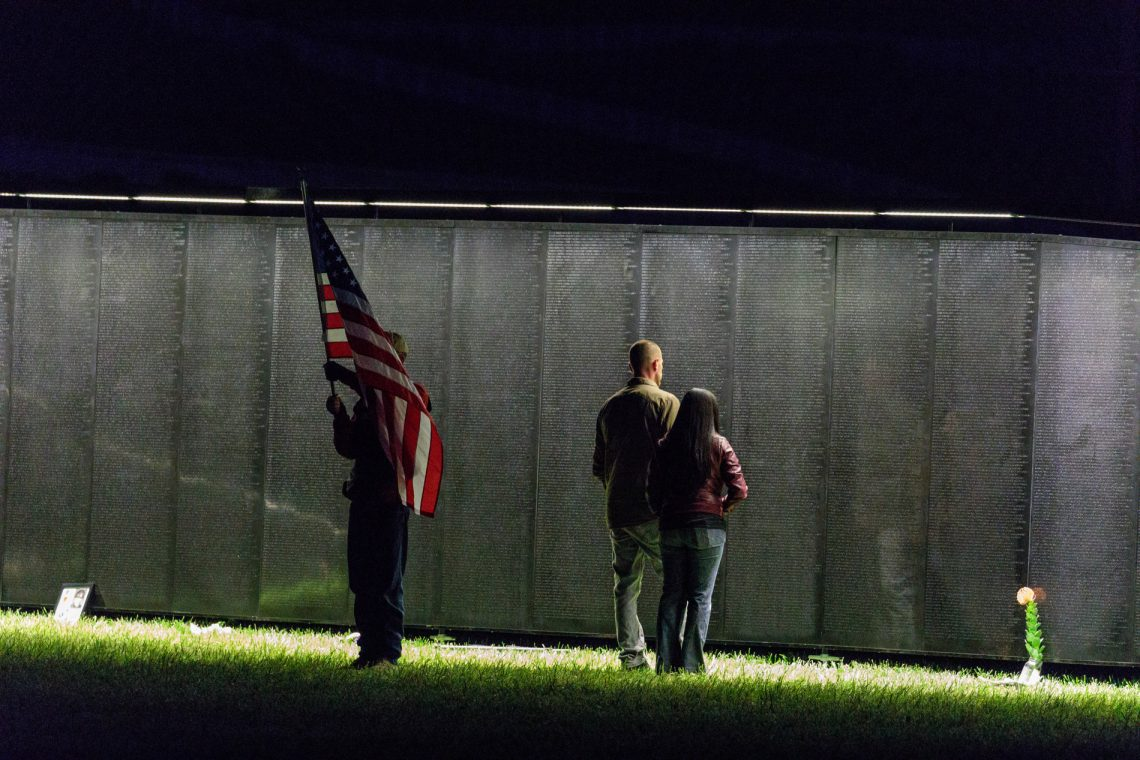 Ksby veterans loved ones visit the wall that heals in san luis ksby veterans loved ones visit the wall that heals in san luis obispo aloadofball Image collections