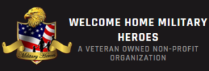 Welcome Home Military Heroes Logo